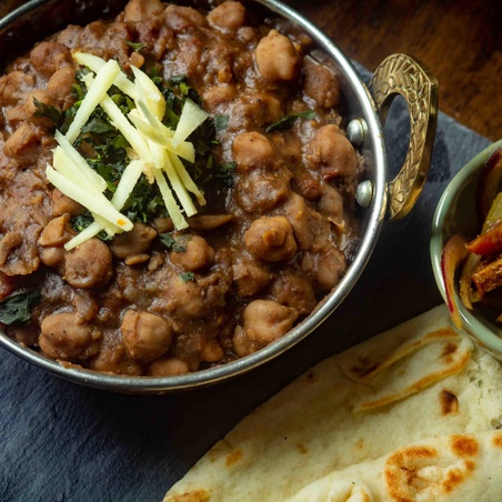 Instant Pot Delhi Style Chole (Chickpea Curry)