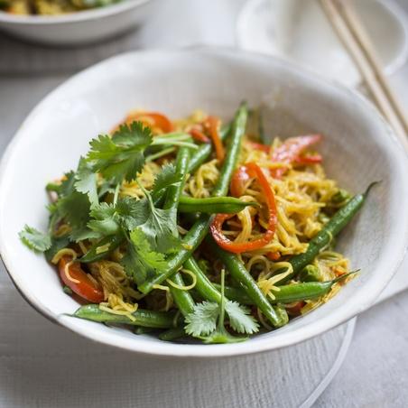 One Pan Singapore Noodles