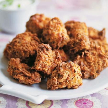Spicy Cajun Popcorn Chicken