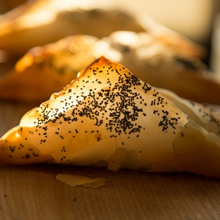 Spiced Mushroom Pastry Parcels