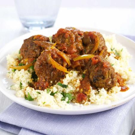 Moroccan-spiced Turkey Meatballs