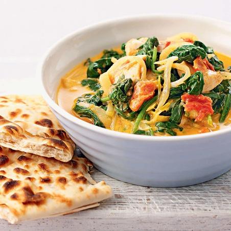 Chicken and Spinach Masala